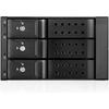 Istarusa BPN-DE230HD Drive Enclosure For 5.25 Inch - Serial ATA/600 Host Interface Internal - Black BPN-DE230HD-BLACK 00846813042529