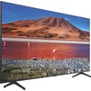 Samsung Crystal TU7000 UN55TU7000F 54.6 Inch Smart Led-lcd Tv - 4K Uhdtv - Titan Gray, Black UN55TU7000FXZA 00887276400044