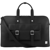 Moshi Treya Briefcase - Jet Black, Two-in-one Messenger, Briefcase For Laptops Up To 13 Inch , Vegan Leather, Removable Clutch, Rfid Pocket 99MO118003 00888112000923