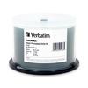 Verbatim Dvd-r 4.7GB 8X Datalifepllus Silver Inkjet Printable - 50pk Spindle 95186 00023942951865