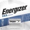 Energizer Lithium 123 3-Volt Battery EL123APBP 00039800041098