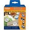 Brother DK1218 - White Round Paper Adhesive Labels DK1218 00012502613527