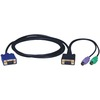Tripp Lite 6ft PS/2 Cable Kit For B004-008 Kvm Switch 3-in-1 Kit P750-006 00037332125361