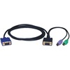 Tripp Lite 10ft PS/2 Cable Kit For B004-008 Kvm Switch 3-in-1 Kit P750-010 00037332125354