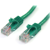 Startech.com 15 Ft Green Snagless Cat5e Utp Patch Cable 45PATCH15GN 00065030779999