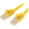 Startech.com 6 Ft Yellow Cat5e Utp Snagless Patch Cable 45PATCH6YL 00065030778657