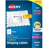 "Avery® TrueBlock Shipping Labels - Sure Feed - Permanent Adhesive - 3 1/2"" Width x 5"" Length - Rectangle - Laser, Inkjet - White - 4 / Sheet - 400"