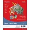 "Canon Photo Paper - Letter - 8 1/2"" x 11"" - Matte - 50 / Pack - White"
