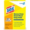 "S.O.S. Steel Wool Soap Pads - Pad - 5"" Width x 4"" Length - 15 / Box"