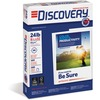"Discovery Premium Selection Laser, Inkjet Copy & Multipurpose Paper - Letter - 8 1/2"" x 11"" - 24 lb Basis Weight - 5000 / Carton - White"