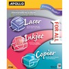 "Apollo Inkjet, Laser Transparency Film - Letter - 8 1/2"" x 11"" - 50 / Box - Clear"
