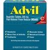 Advil Pain Reliever Single Packets - For Headache, Muscular Pain, Backache, Arthritis, Menstrual Cramp - 50 / Box