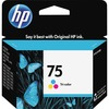 HP 75 (CB337WN) Original Ink Cartridge - Inkjet - 210 Pages - Color - 1 Each