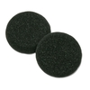 Plantronics Supra Headset Replacement Ear Cushions - 1 - Black - Foam