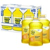 Pine-Sol All Purpose Cleaner - Liquid - 144 fl oz (4.5 quart) - Lemon Fresh Scent - 3 / Carton - Yellow