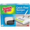 Scotch-Brite Quick Floor Sweeper - Rubber Blade - White