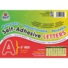 """Pacon Reusable Self-Adhesive Letters - (Uppercase Letters, Number, Punctuation Marks) Shape - Self-adhesive - Acid-free, Fadeless - 2"""" Length - Puffy"""