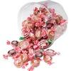 Office Snax Goetz's Caramel Creams Candy Tub - Regular, Strawberry, Dark - 1.61 lb - 1 Each