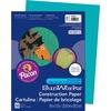 "SunWorks Construction Paper - Multipurpose - 12"" x 9"" - 50 / Pack - Turquoise - Paper"