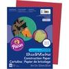 "SunWorks Construction Paper - Multipurpose - 12"" x 9"" - 50 / Pack - Red - Groundwood"