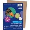 "SunWorks Construction Paper - Art - 0.40"" x 12""9"" - 50 / Pack - Light Brown - Paper"