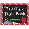 "Teacher Created Resources Chalkboard Teacher Plan Book - Academic - Weekly, Daily - Spiral Bound - 12"" Width - 1 Each"