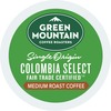 Green Mountain Coffee Roasters Colombian Fair Trade Select - Regular - Light/Mild - K-Cup - 24 / Box