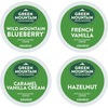 Green Mountain Coffee Roasters Flavored Variety Sampler - Regular - K-Cup - 22 / Box
