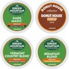 Green Mountain Coffee Roasters Assorted Decaffeinated Variety Sampler - DeCaffeinated - K-Cup - 22 / Box
