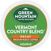 Green Mountain Coffee Roasters Vermont Country Blend - DeCaffeinated - Medium - K-Cup - 24 / Box