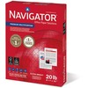 "Navigator Laser Copy & Multipurpose Paper - Letter - 8 1/2"" x 11"" - 20 lb Basis Weight - 5000 / Carton - White"
