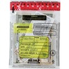 "MMF Clear Tamper-Evident Deposit Bags - 12"" Width x 16"" Length - Clear - Plastic - 100/Box - Deposit"