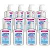 Gojo Purell Instant Hand Sanitizer Pump Dispenser Bottle - 8 fl oz (236.6 mL) - Push Pump Dispenser - Hand - Clear - Dye-free - 12 / Carton