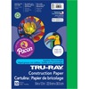 """Tru-Ray Construction Paper - 12"""" x 9"""" - 76 lb Basis Weight - 50 / Pack - Festive Green - Sulphite"""