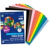 """Tru-Ray Construction Paper - 12"""" x 9"""" - 50 / Pack - Assorted - Sulphite"""