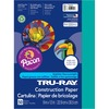 """Tru-Ray Construction Paper - 12"""" x 9"""" - 76 lb Basis Weight - 50 / Pack - Turquoise - Sulphite"""