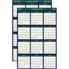 House of Doolittle Eco-friendly 18 Month Laminated Wall Calendar - Julian Dates - Weekly, Daily, Yearly - 1.5 Year - January 2021, July 2020 till Dece