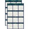 "House of Doolittle Reversible Planner - Julian Dates - 1 Year - January 2021, July 2020 till December 2022, June - 24"" x 37"" Sheet Size - 1.50"" x 1"" B"