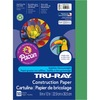 "Tru-Ray Heavyweight Construction Paper - 12"" x 9"" - 50 / Pack - Holiday Green - Sulphite"
