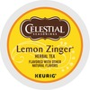 Celestial Seasonings Lemon Zinger Tea - Herbal Tea - Assorted - K-Cup - 24 / Box
