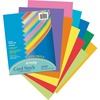 "Pacon Laser Printable Multipurpose Card Stock - 10% Recycled - Letter - 8.50"" x 11"" - 65 lb Basis Weight - 100 Sheets/Pack - Card Stock - 10 Assorted"