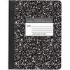 Roaring Spring 80 Sheet Quad Ruled Composition Notebooks - 80 Sheets - 160 Pages - Printed - Sewn/Tapebound - Both Side Ruling Surface - 15 lb Basis W