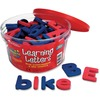 Learning Resources Magnetic Learning Letters - Theme/Subject: Learning - Skill Learning: Alphabet, Letter Sound, Word Building, Sorting, Reading, Phon