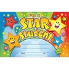 "Trend I'm a Star Student Recognition Awards - 8.50"" x 5.50"" - Multicolor - 1 / Pack"