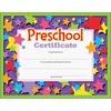 "Trend Preschool Certificate - ""Preschool Certificate"" - 8.50"" x 11"" - Assorted - 30 / Pack"