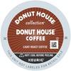 Donut House Regular Coffee - Regular - Light/Mild - K-Cup - 24 / Box