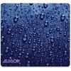 "Allsop NatureSmart Image Mousepad - Soft Top Raindrop, Blue - (30182) - Soft Top Raindrop - 0.10"" x 8.50"" Dimension - Blue - Cloth Top, Natural Rubber"