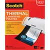 """Scotch Thermal Laminating Pouches - Sheet Size Supported: Letter 8.50"""" Width x 11"""" Length - Laminating Pouch/Sheet Size: 9"""" Width x 11.50"""" Length x 3"""