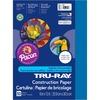 "Tru-Ray Construction Paper - Project, Bulletin Board - 12"" x 9"" - 50 / Pack - Blue - Sulphite"