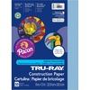 "Tru-Ray Construction Paper - Project, Bulletin Board - 12"" x 9"" - 50 / Pack - Sky Blue - Sulphite"